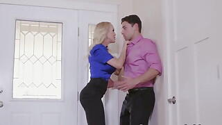Horny Stepmom Sucks And Fucks